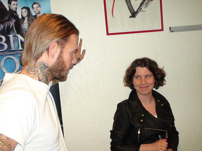 Flora rencontre Matt Pokora
