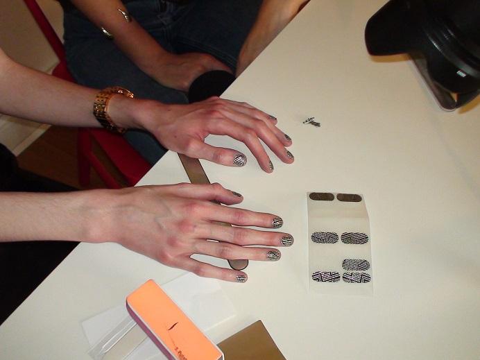 Caroline faux ongles