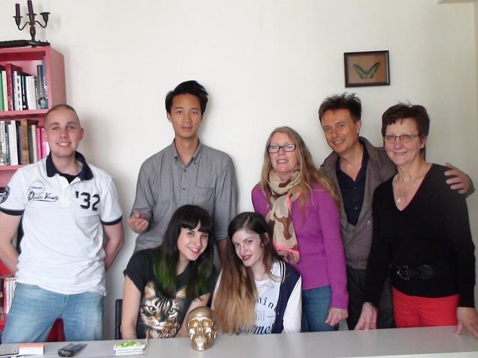 Caroline photo de groupe